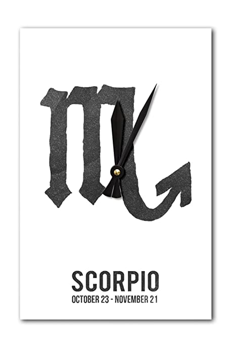 Amazon Scorpio Astrology Zodiac Symbol Ink Drawing Acrylic