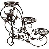 Espositore per bonsai piante casa giardino in for Scaletta decorativa