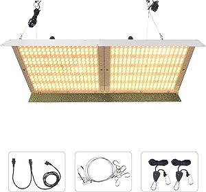 WhiteRose 4000W LED Grow Light Panel Sunlike Full Spectrum Growing Lamp for Seeding Veg Bloom