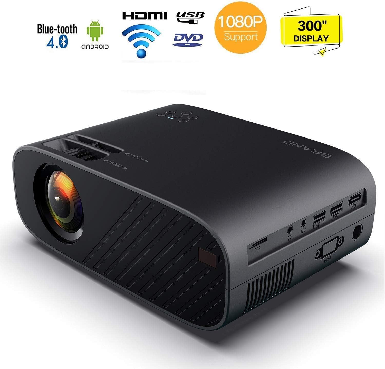 HD 1080P proyector de vídeo, 10.000 lúmenes proyector de vídeo HD ...