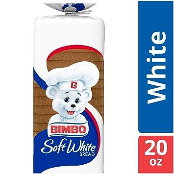 bimbo soft white bread calories