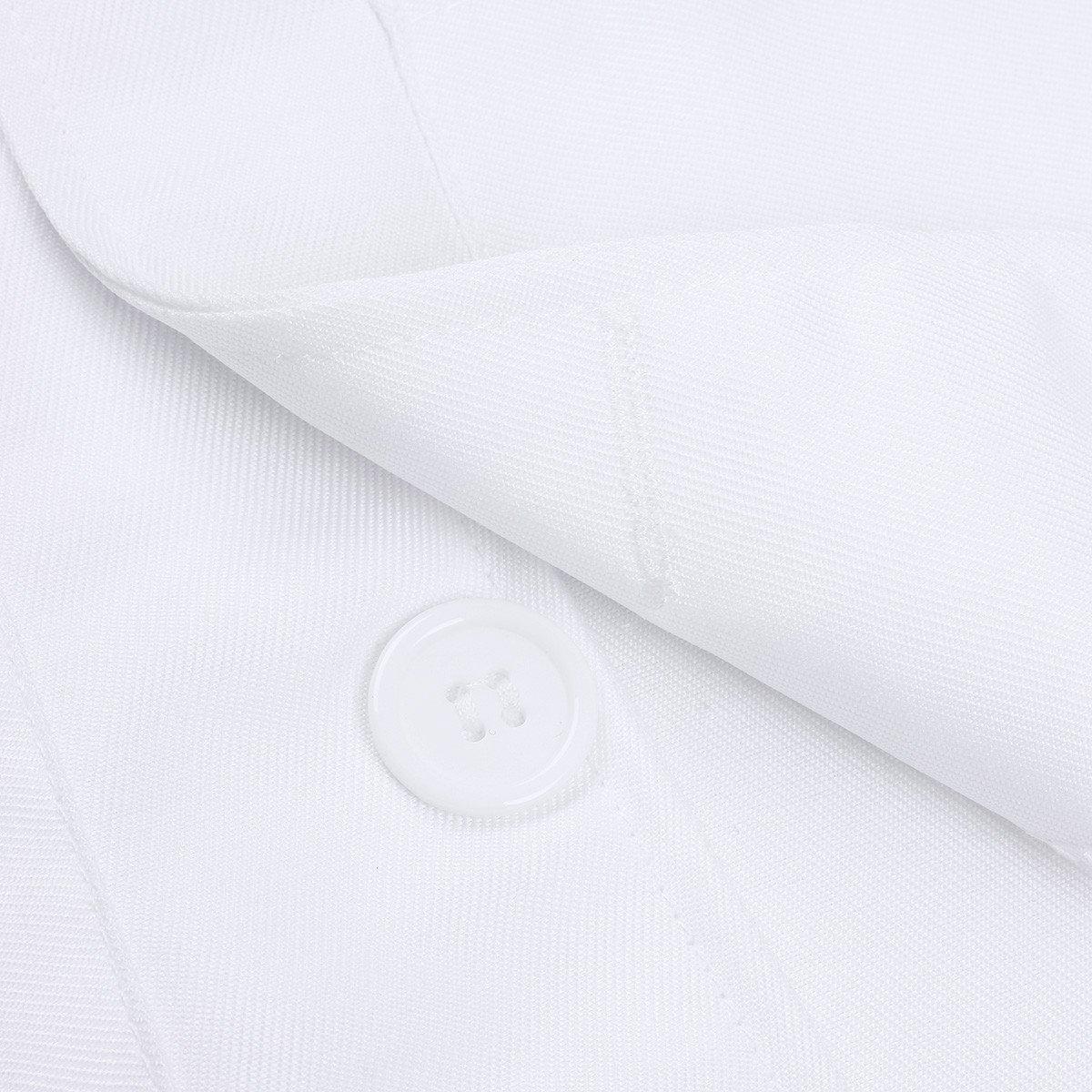 Freebily Scrubs Childrens Lab Coat-Soft Fabric Long Sleeve Doctor Uniform White Cosplay Dress up Costume White 4-5 by Freebily (Image #5)
