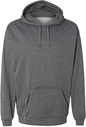 6832beaa5 J. America Mens Hooded Pullover Sweatshirt-8615-XXX-Large-Charcoal Heather
