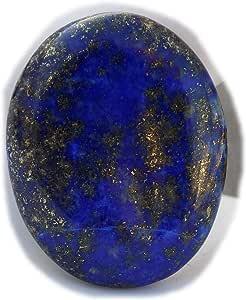 The Best Jewellery Lapis Lazuli cabochon, 32Ct Lapis Lazuli Gemstone, Oval Shape Cabochon For Jewelry Making (29x22x4mm) SKU-15125