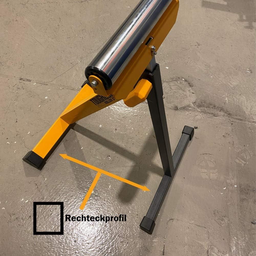 Toughbuilt TB-S200 Rollenst/änder klappbar und h/öhenverstellbar extrem robustes Fu/ßgestell