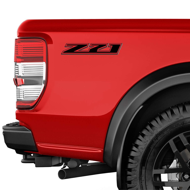 2 Decals TiresFX Chevy Silverado Z71 3D Truck Stickers Decals