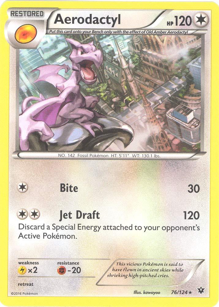 Pokemon - Aerodactyl (76/124) - XY Fates Collide