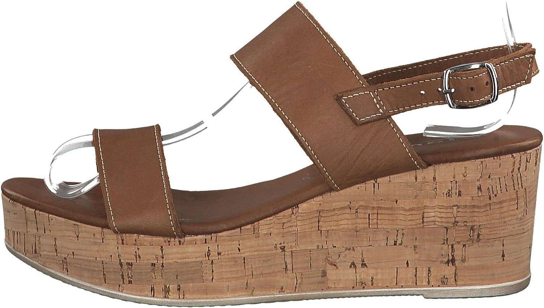 Tamaris 1-1-28363-22 Femme Sandales compens/ées,Sandales,Sandales compens/ées,Chaussures d/ét/é,Confortable,Plat