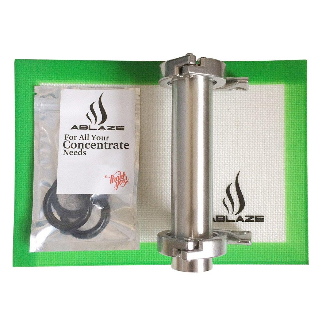 Ablaze Stainless Steel Open End Tube Kit 45 Gram No Tripod