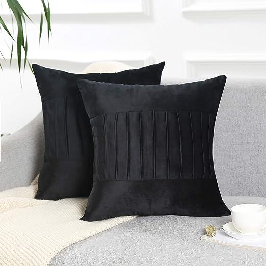 Fundas de almohada decorativas con fundas de cojín cuadradas ...