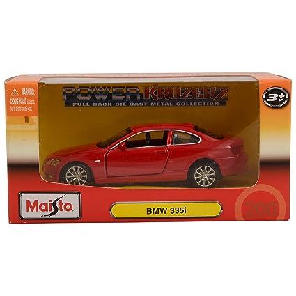 Maisto Power Kruzerz 4.5u0026quot; Pull Back Action   Bmw 335I Diecast Model Car  ...