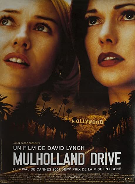 Mulholland Drive 2001 French Petite Poster