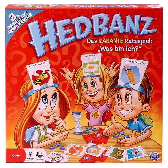 Amazon.com: Cardinal Games 6019225 Hedbanz - Juego de mesa ...