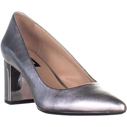 2cdbc111b59 DKNY Womens Elie Metallic Dress Pumps  Amazon.co.uk  Shoes   Bags