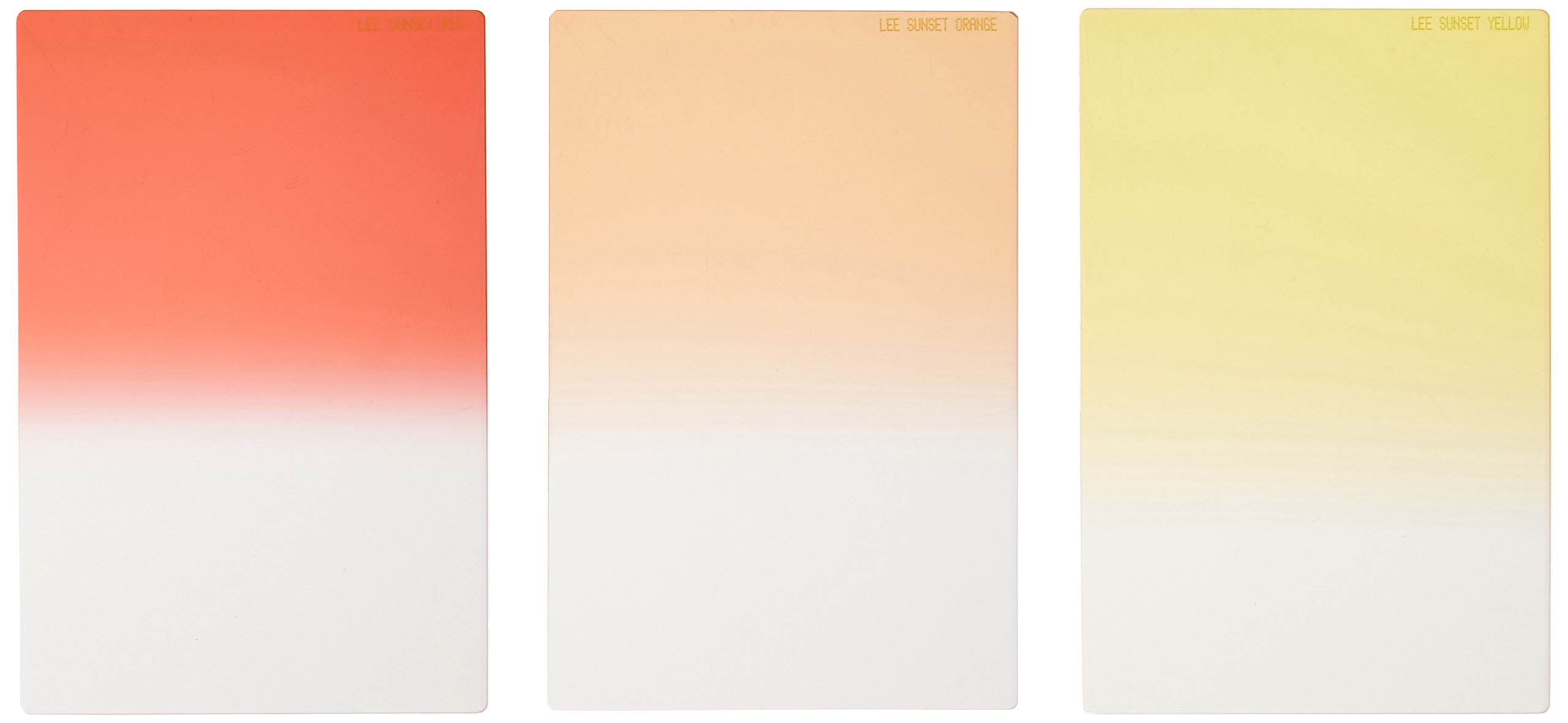 Lee Sunset Filter Graduated Set (100x150mm Resin) [FHSUNS ] by Lee Filters