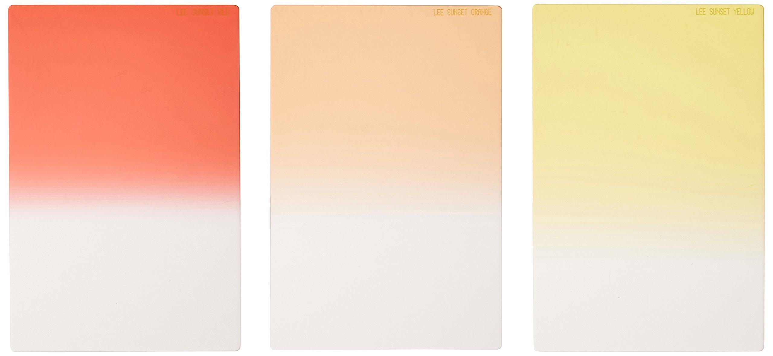 Lee Sunset Filter Graduated Set (100x150mm Resin) [FHSUNS ]
