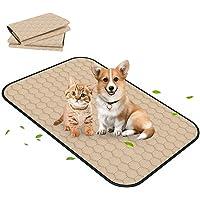 "Portin Dog Pee Pad, Washable & Reusable & Leakproof Pet Training Mat (39.4"" x 27.6""-2pcs)"