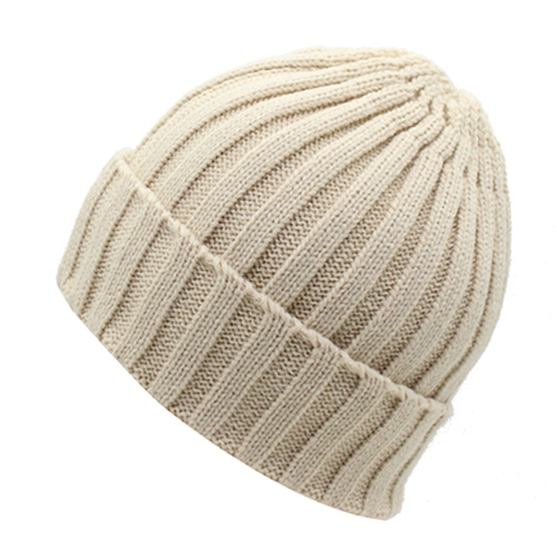 09c1c4a8adc67 Amazon.com: Donna Pierce Beanies Women Knitted Hat Men Winter Hats For Women  Bonnet Caps Gorros Warm Moto Wool Touca Winter Beanie Hat beige: Health ...