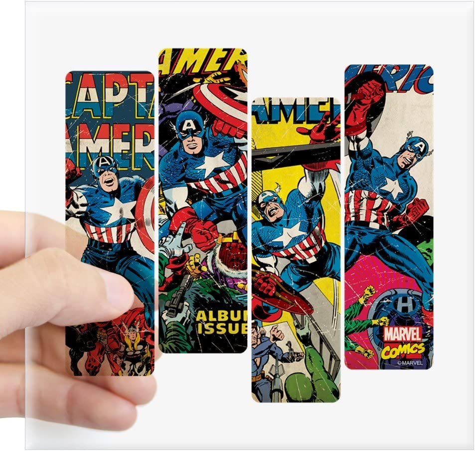 Sticker ** 5 Sizes ** Captain America Comic Book Vinyl Decal