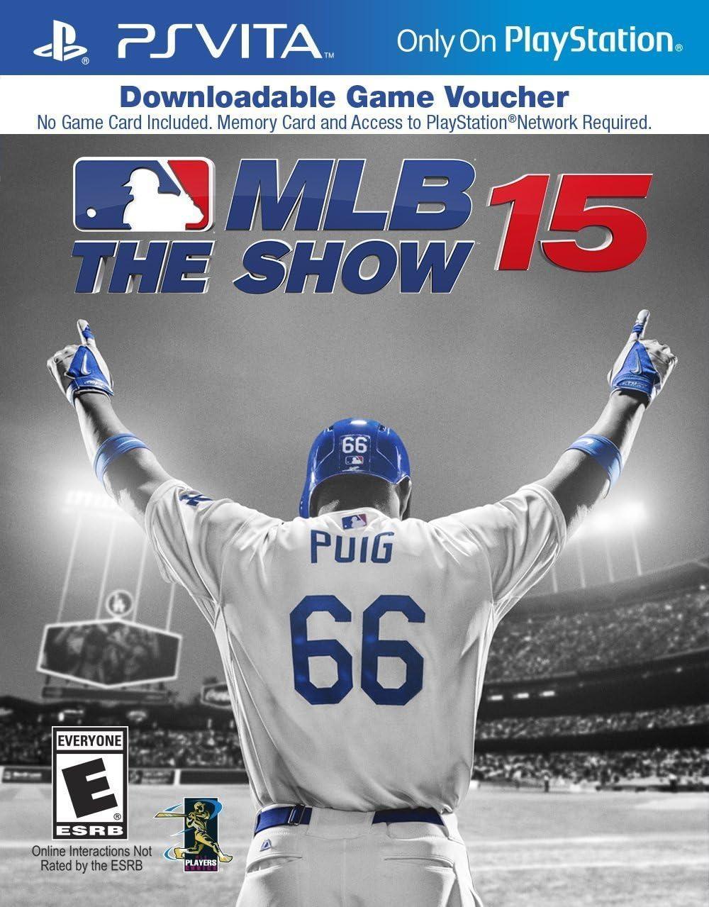 Amazon.com: MLB 15: The Show - PS Vita [Digital Code]: Video ...