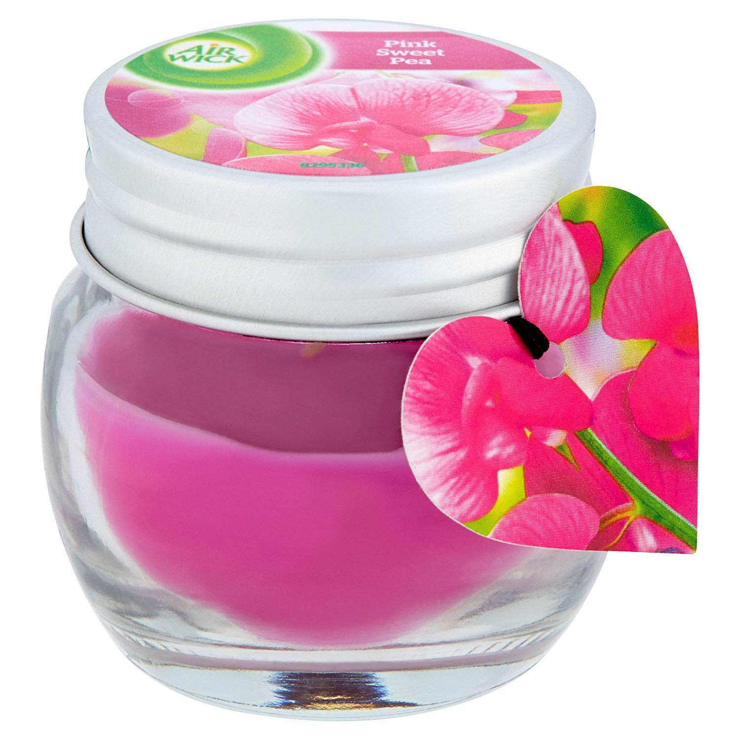 2.2 Airwick Jar Scented Candle Pink Sweet Pea