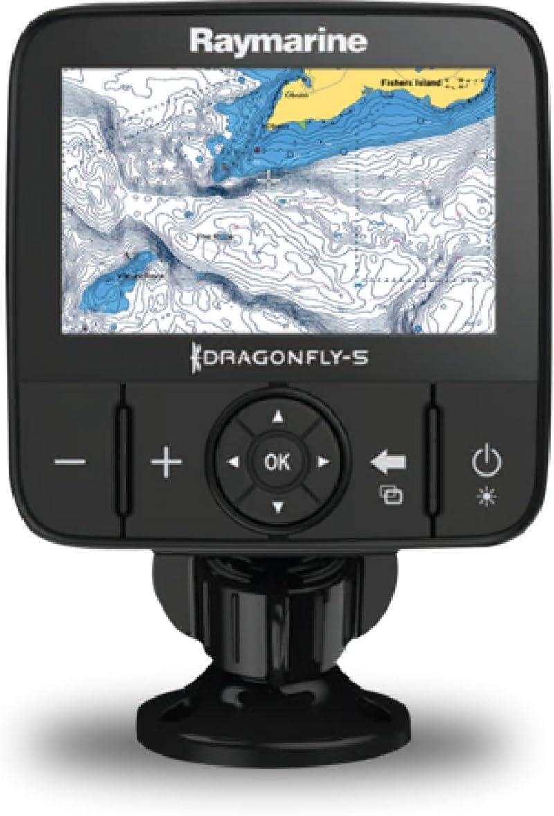 Plotter Raymarine E70295-Estadounidense Libélula GPS con América del Norte Cmap Esencial Mapa De 12,7 Cm (5 Z: Amazon.es: Electrónica