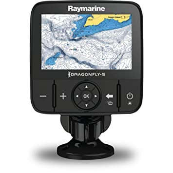 Raymarine Dragonfly 5m Sonar Gps With Us C Map Essentials