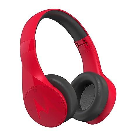 4340ce6bdc7 Amazon.com: Motorola MT-SH012-BK Pulse Escape Wireless Over-Ear Headphones  - Black: Electronics
