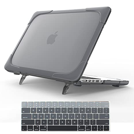 online retailer 9b7ff bca57 For Macbook Pro 15 Retina Case,StrongCase [Heavy Duty][Dual Layer] Hard  Case Cover with Plastic Bumper for Apple Macbook Pro 15.4