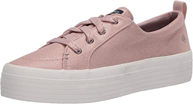 Sperry Women's Crest Vibe Platform Metallic Sneaker