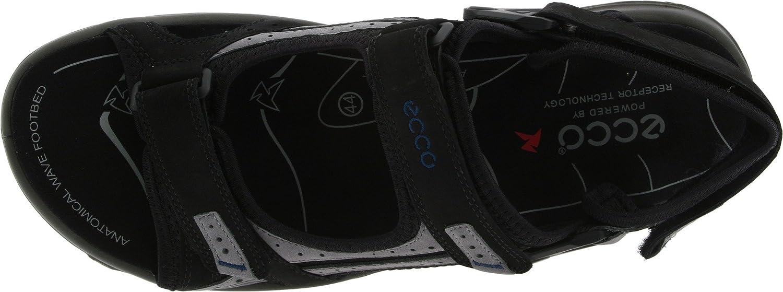 1890ab134dba32 Ecco Herren Offroad Lite Sport-   Outdoor Sandalen Schwarz Black Titanium  53779 40 EU  Amazon.de  Schuhe   Handtaschen