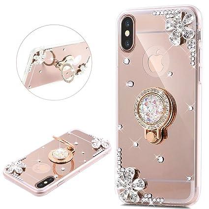 coque iphone x glitter