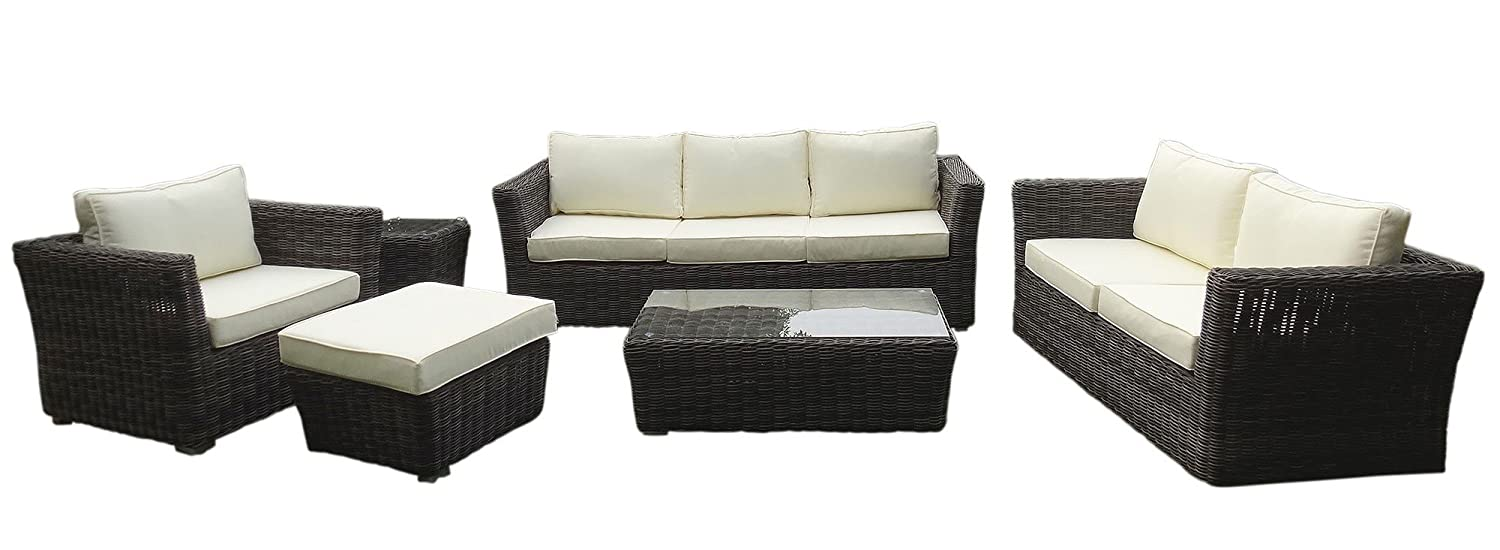 baidani gartenm bel garnitur empire grau g nstig online kaufen. Black Bedroom Furniture Sets. Home Design Ideas