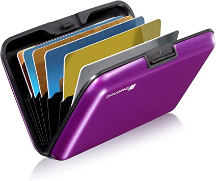 New RFID Block Aluminium Holder Security Wallet Bank Card Credit Card Hard Case