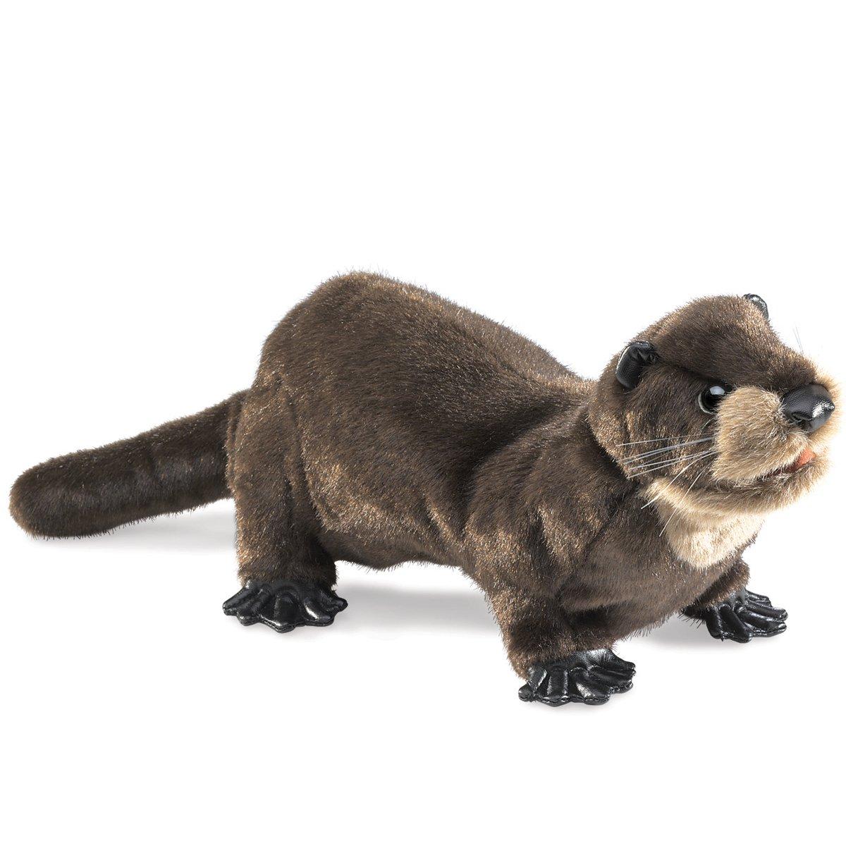 Folkmanis Puppets 2266 - Otter: Amazon.de: Spielzeug