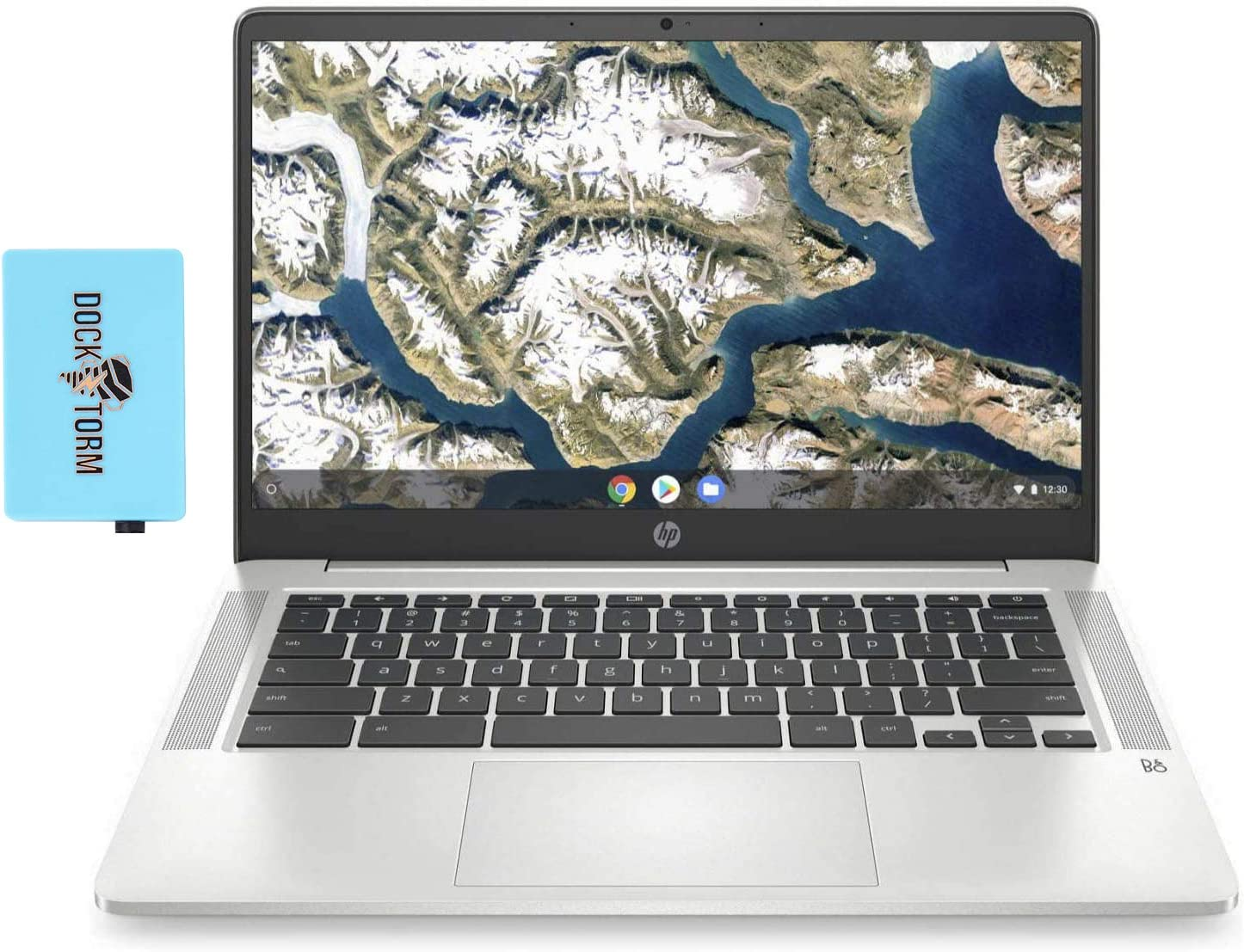 HP Chromebook - 14a-na0023cl Everyday Value Laptop (Intel Celeron N4000 2-Core, 4GB RAM, 64GB eMMC, Intel UHD 600, 14.0