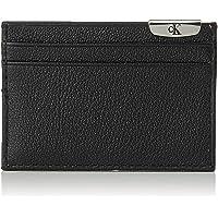 Calvin Klein Jeans Micro Pebble Card case Wallets, Card Cases & Money Organizers, Black, 10 cm - K50K505590
