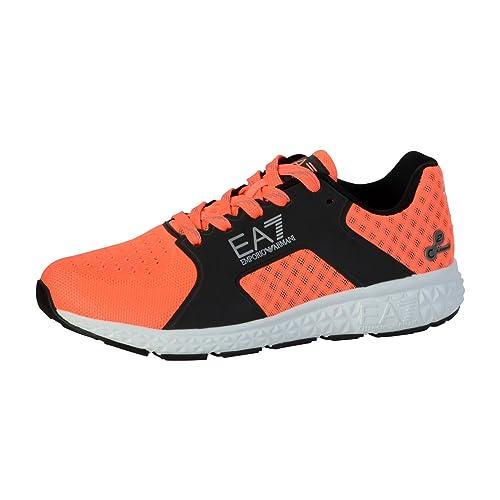 Emporio Armani - Zapatillas de deporte para hombre, naranja (naranja), 42: Amazon.es: Zapatos y complementos