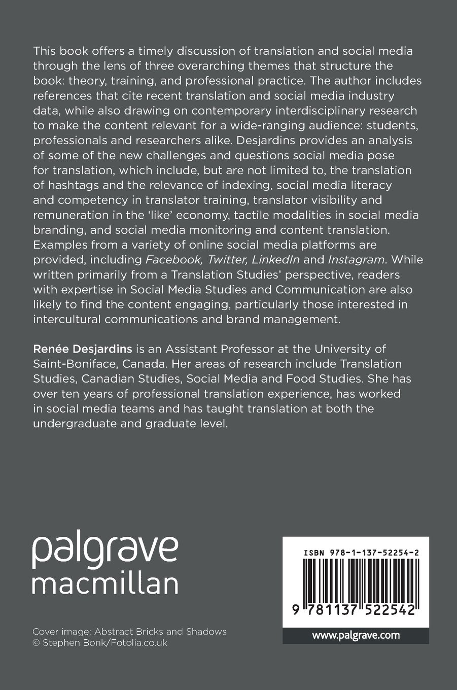Translation and Social Media: In Theory, in Training and in Professional Practice (Palgrave Studies in Translating and Interpreting)