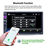 MKChung 7 inch 2 Din Touch Screen Bluetooth GPS Car Mp5 RDS North America