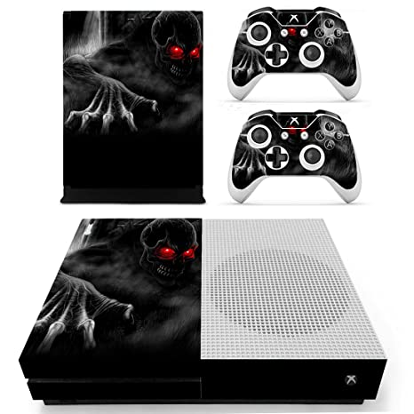 Amazon.com: Chickwin Xbox One S Skin Vinyl Decal Full Body ...