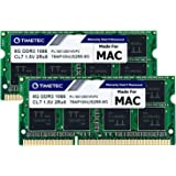 Timetec Hynix IC Compatible for Apple 16GB Kit(2x8GB) DDR3 PC3-8500 1066MHz Memory Upgrade for MacBook 13?? Mid 2010…