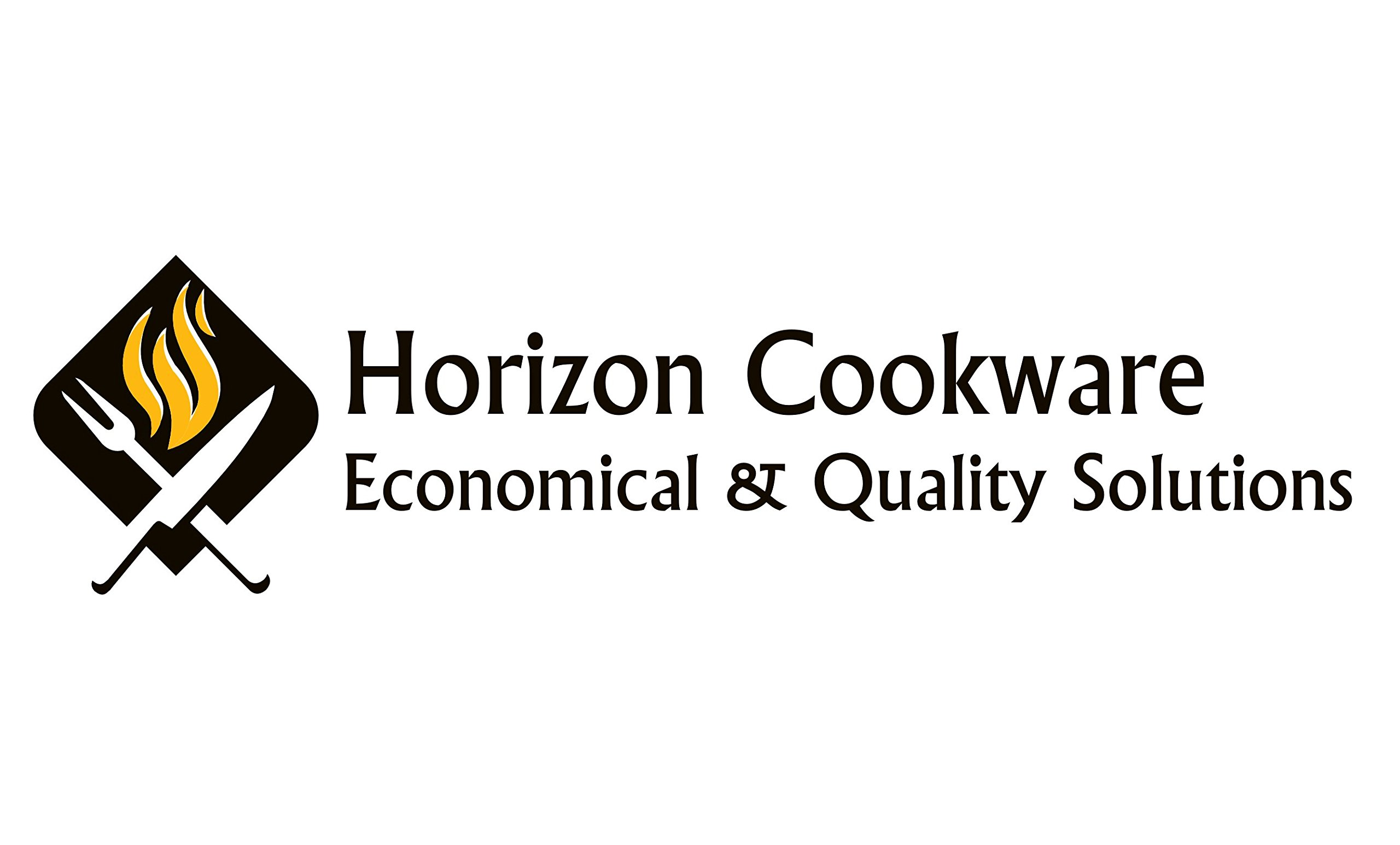 Horizon Cookware 6099 Universal Kitchen Replacement Pot Lid Cover Knob Handle - Black/Silver (5)