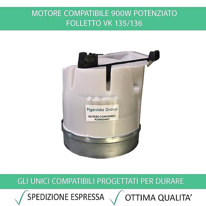 103 opinioni per Motore Compatibile Per Vorwerk Folletto Potenziato 900W per VK 135/136- Garanzia