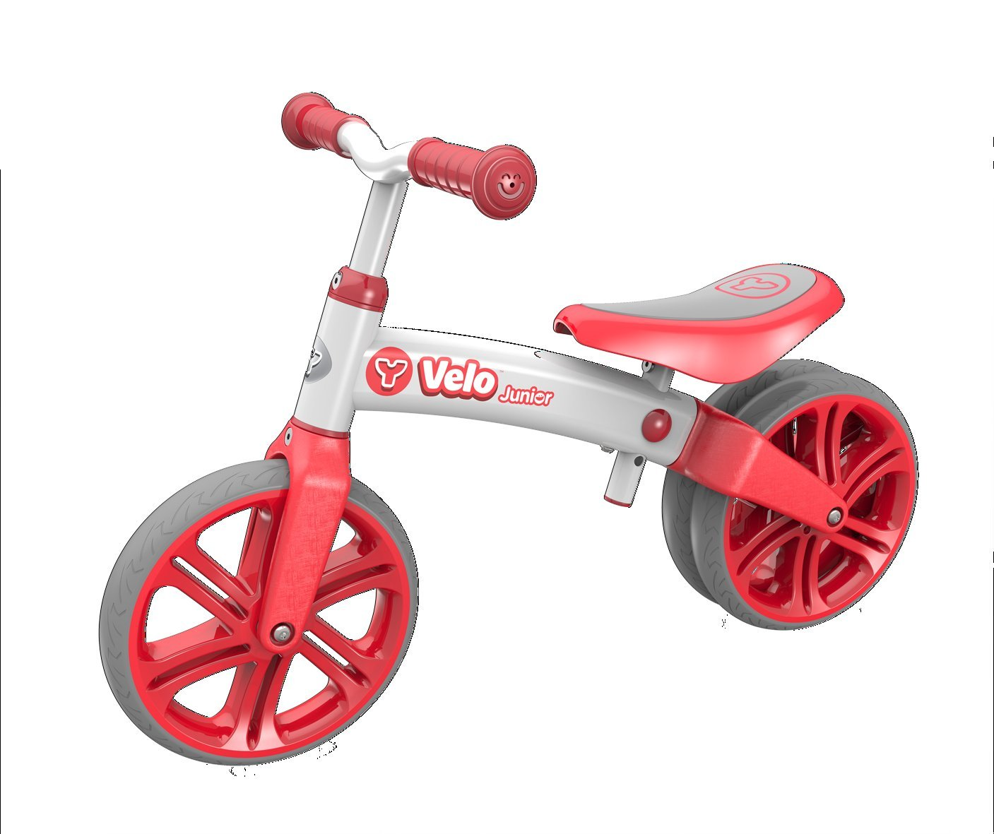 Yvolution Y Velo Junior | No-Pedal Balance Bike for Kids (red) by Yvolution