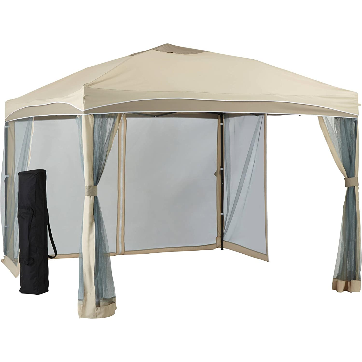 Amazon.com : Better Homes And Gardens Lawrence Portable Patio Gazebo, 10u0027 X  10u0027 : Garden U0026 Outdoor