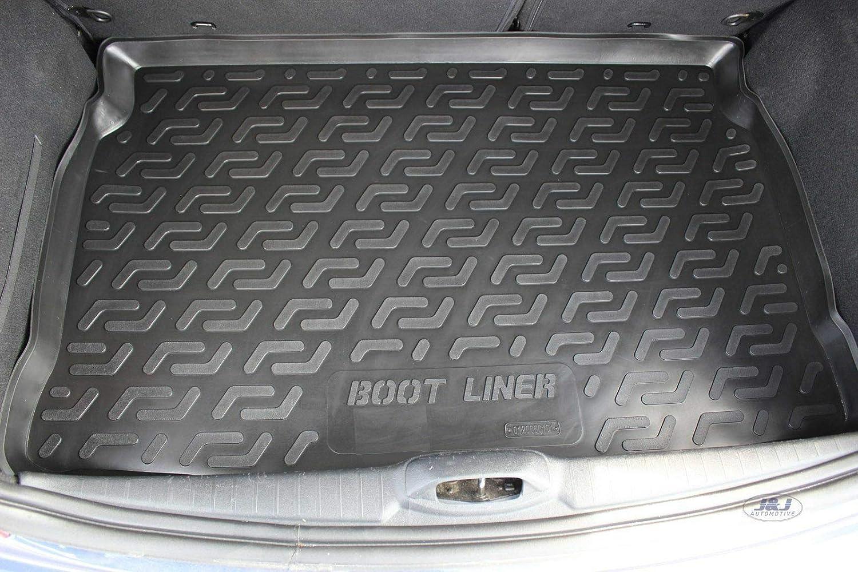 Tapis de Coffre Antid/érapant Compatible avec Saab 9-3 Sport 5P Break 2005-pr/és J/&J AUTOMOTIVE