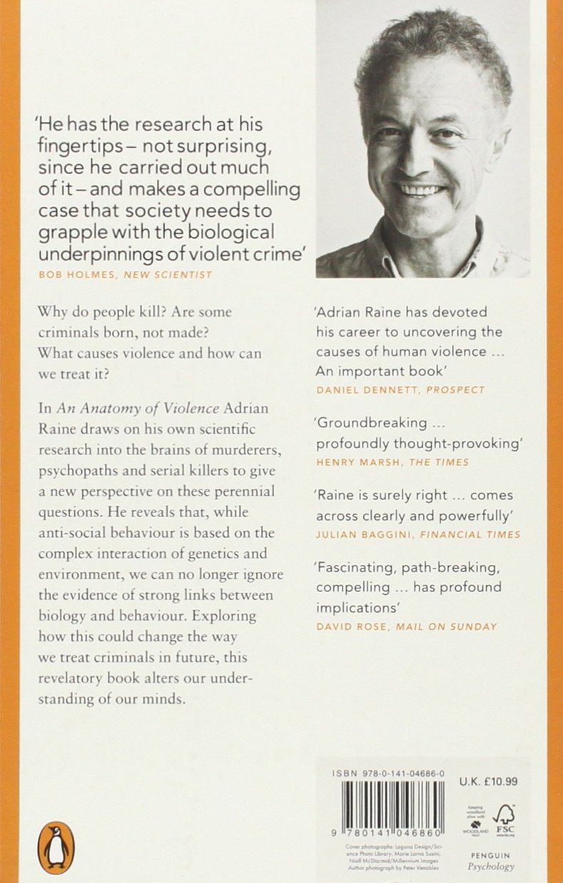 The Anatomy of Violence: The Biological Roots of Crime: Amazon.co.uk ...