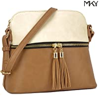 Dasein Fashion All-In-One Decorative Tassel Crossbody Handbag Deals