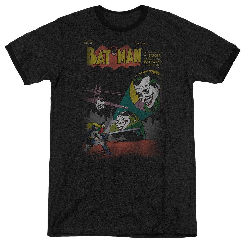 DC Comics Shirt XL Wrong Signal Adult Ringer T